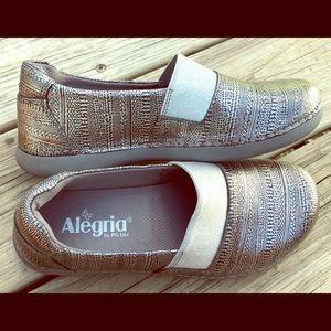 New Alegria Glee comfort slip on loafer size 36